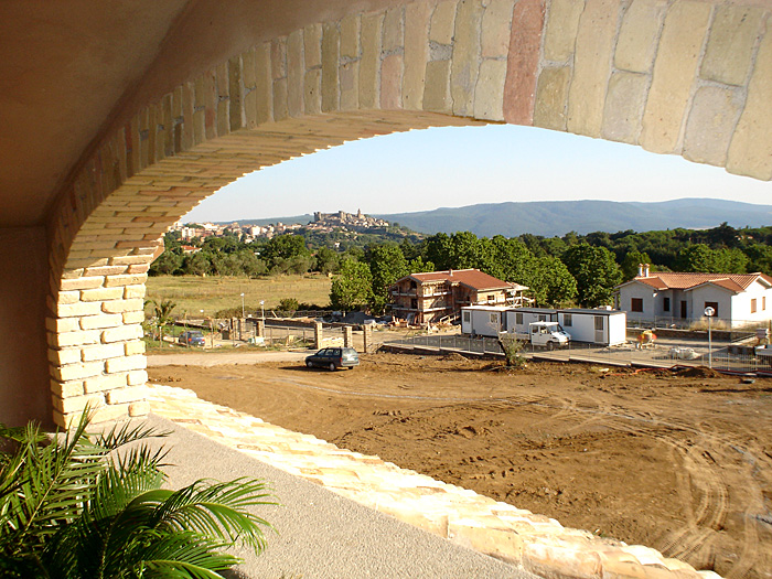 Impresa edile viterbo edilart marini for Arco in mattoni a vista