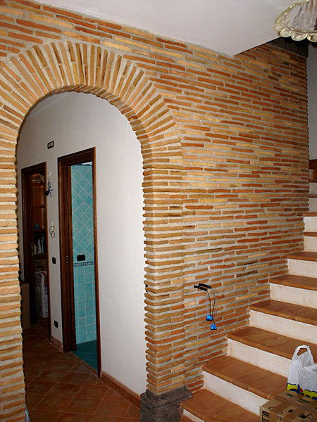 Cool di parete in mattoncini antichi with parete in mattoncini - Mattoncini per esterno ...